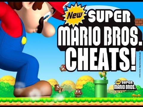 super mario cheats