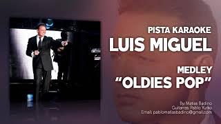 Luis Miguel - Medley Decídete - PISTA KARAOKE