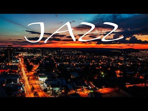 Relaxing Jazz In The Night - Smooth JAZZ &  Lights of Night City - Night Traffic JAZZ