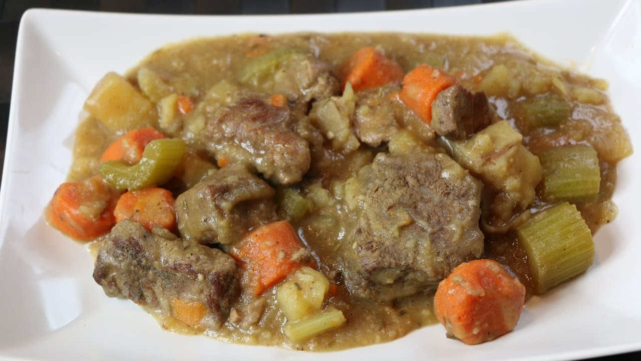 How to Make Beef Stew - Easy Crockpot Beef Stew Recipe - YouTube