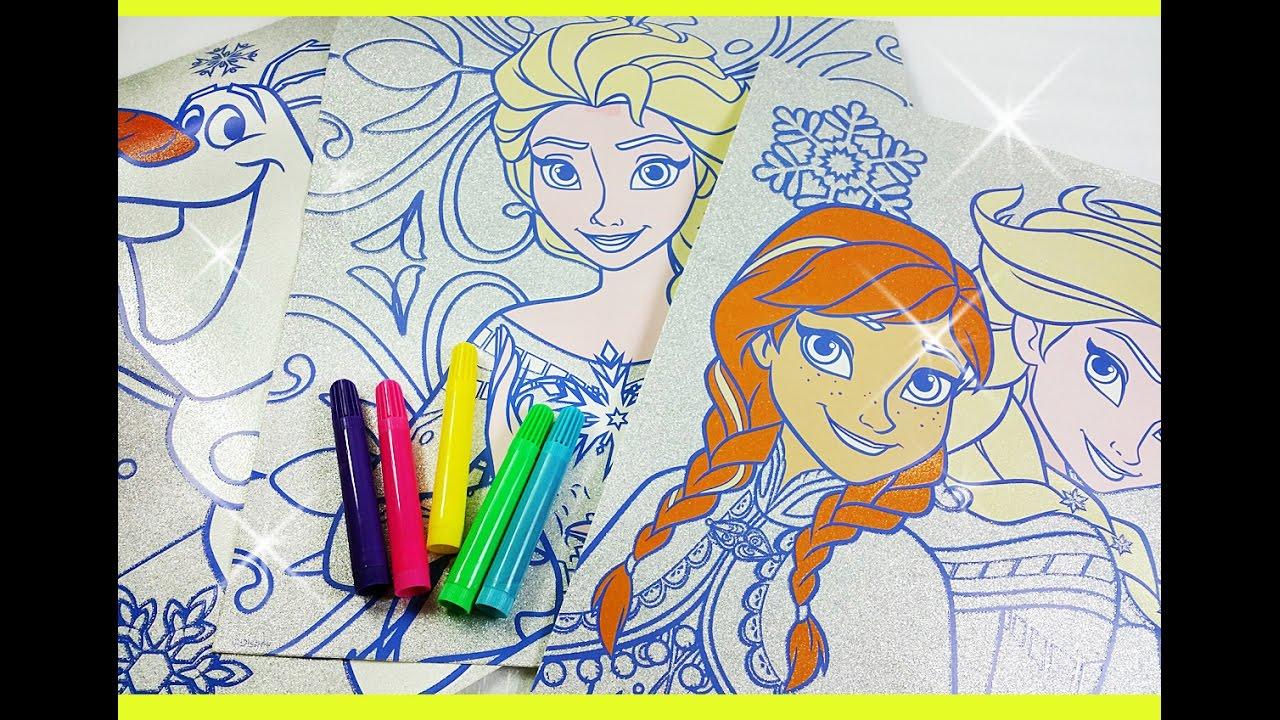 Disney Frozen Queen Elsa Color N Sparkle Coloring Book