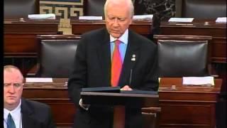 Senator Hatch speaks on the Amy and Vicky Child Pornography Victim Restitution Improvement Act