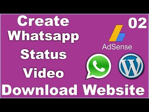 01 How To Make Whatsapp Status Video Download Website In
