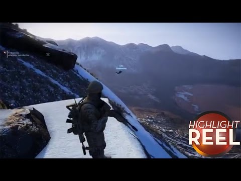 Highlight Reel #281 - Ghost Recon Player Believes He Can Fly