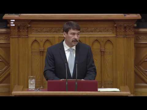 Áder János: Az új Országgyűlés és a leendő kormány legitimációja vitán felül áll - ECHO TV
