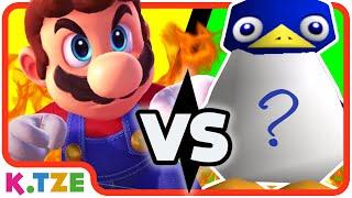 Mario oder Pinguin? 🤔🐧 Wer ist schneller?