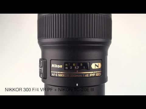 Nikon 300 f/4 VR PF Autofocus speed with teleconverters