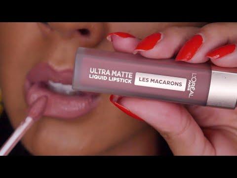 L'Oreal Les Macarons Liquid Lipstick Review