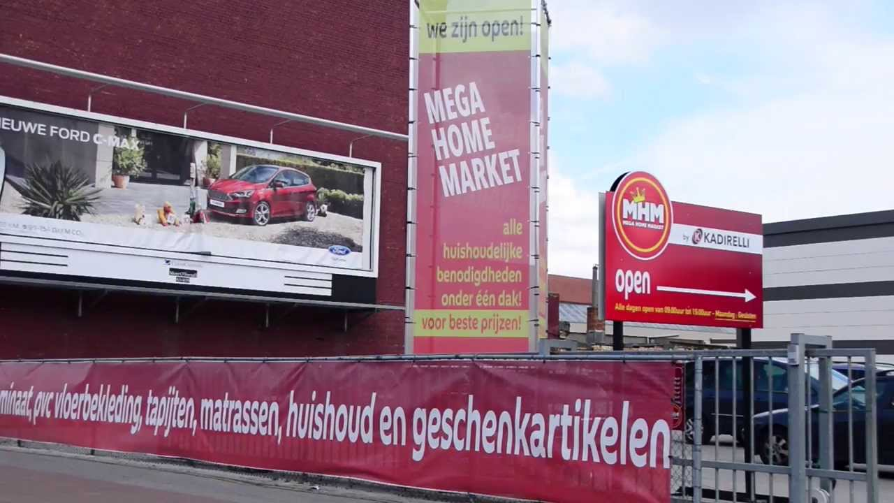 MHM MEGA HOME MARKET ANTWERPEN - YouTube