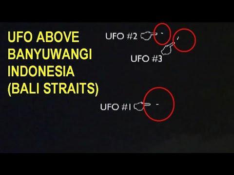UFO OVNI INDONESIA (BANYUWANGI, BALI STRAITS)
