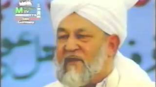 Hidmat e Halaq in words of Khalifa Rabeh (ABA)