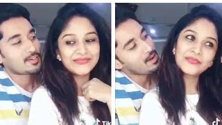 Serial actor Nirupam funny Dubsmash with his Wife