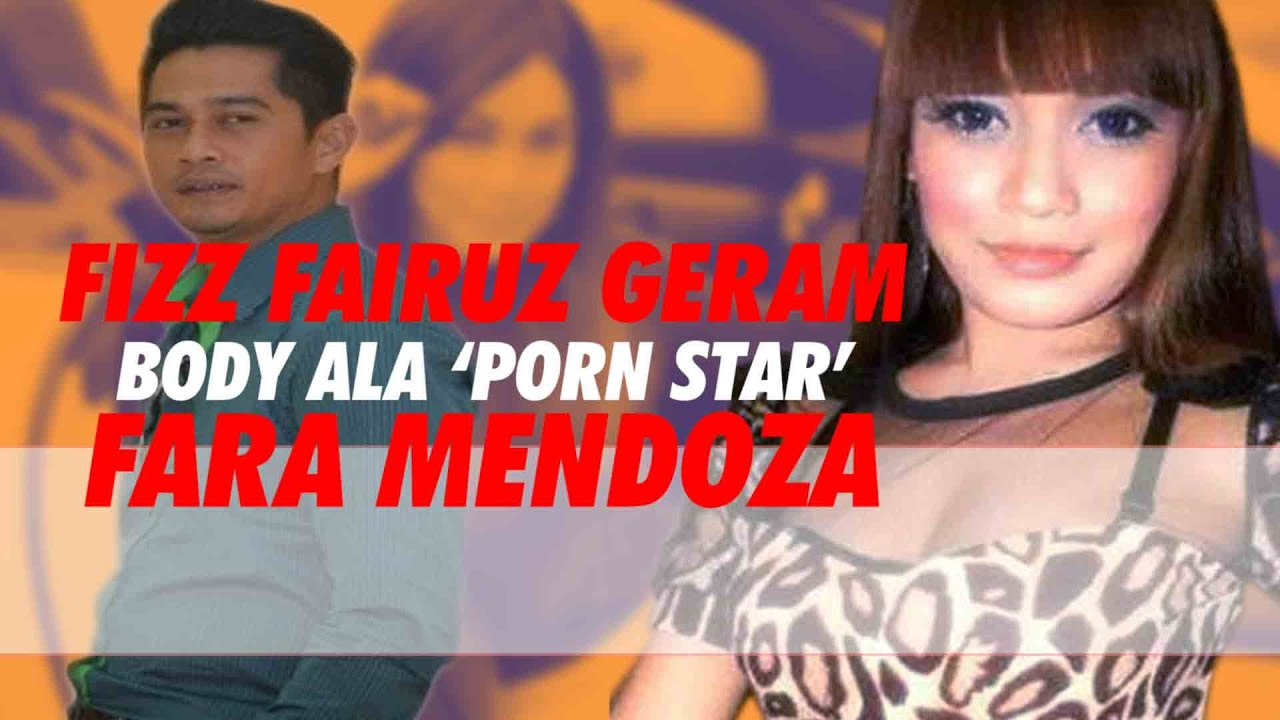 Download Fara Mendoza goda Fiz Fairuz dengan aset 'Pornstar'?