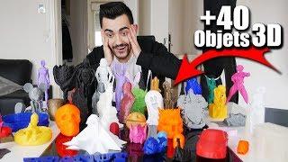 40 IMPRESSIONS 3D EXCEPTIONNELLES !