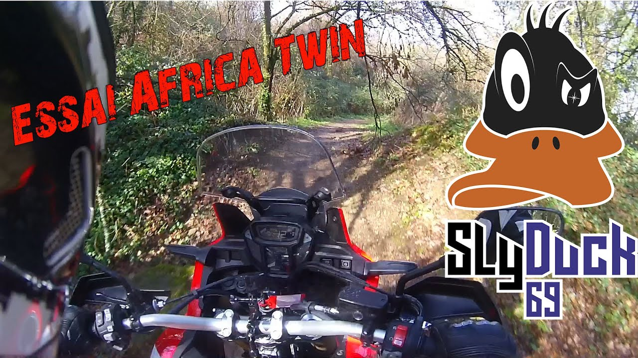 essai crf1000 africa twin 1080p youtube. Black Bedroom Furniture Sets. Home Design Ideas
