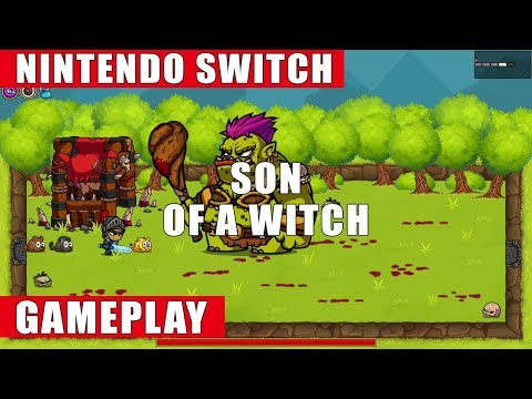 Son of a Witch Nintendo Switch Gameplay
