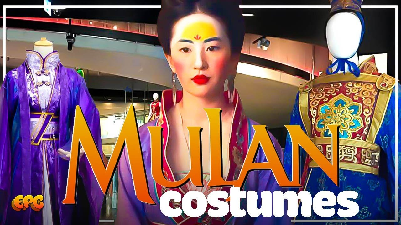Yifei Liu Mulan 2020 Costume Wardrobe Unveiled On Display In Los Angeles Youtube