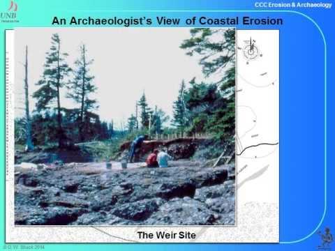 Coastal Erosion and Archaeological History in Charlotte County, New Brunswick
