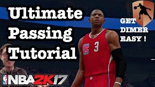 NBA 2K17 Tips Best Passing Tutorial. 2K17 How to get Dimer Badge tutorial. 2K17 Tutorial #17