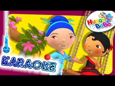 I Had A Little Nut Tree | Karaoke Version | Nursery Rhymes | By HuggyBoBo