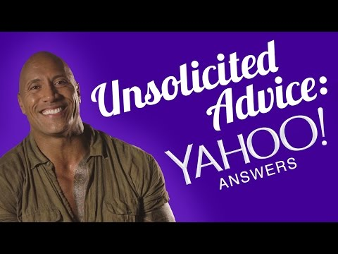 Unsolicited Advice: Yahoo Answers With The Rock - Seven Bucks November Q&A