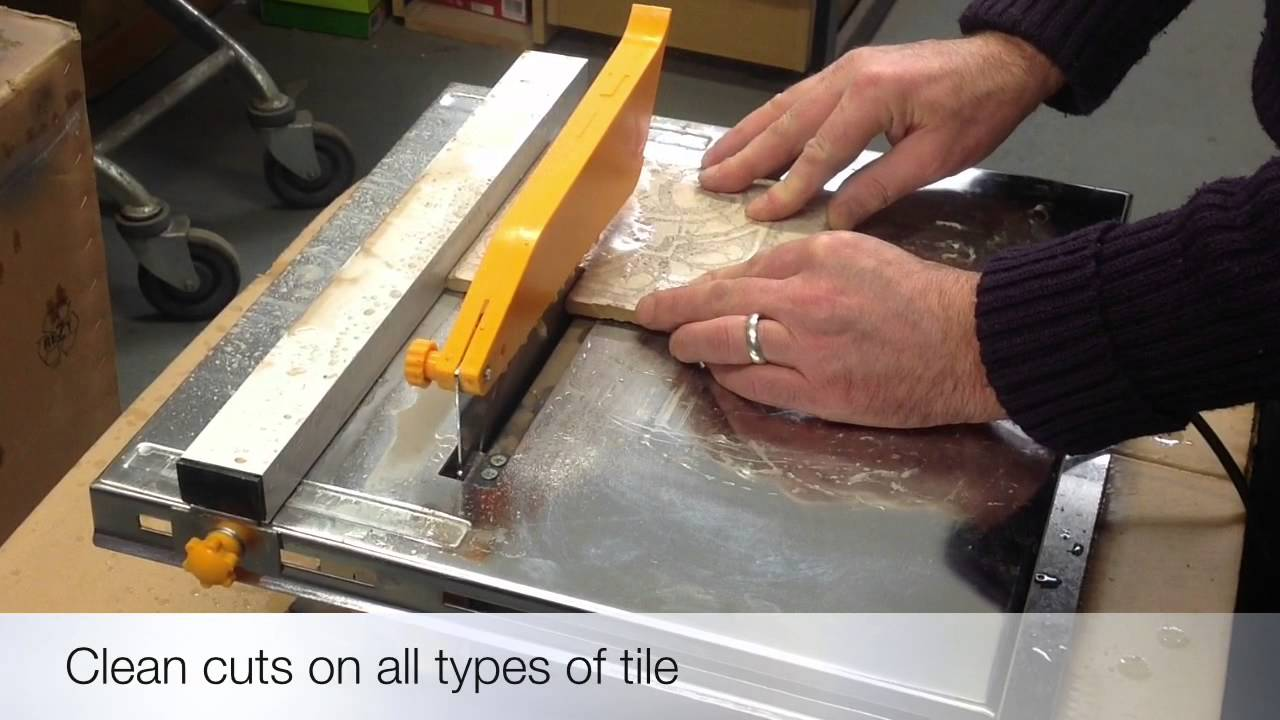 Wet Cut Diamond Tile Bench Saw