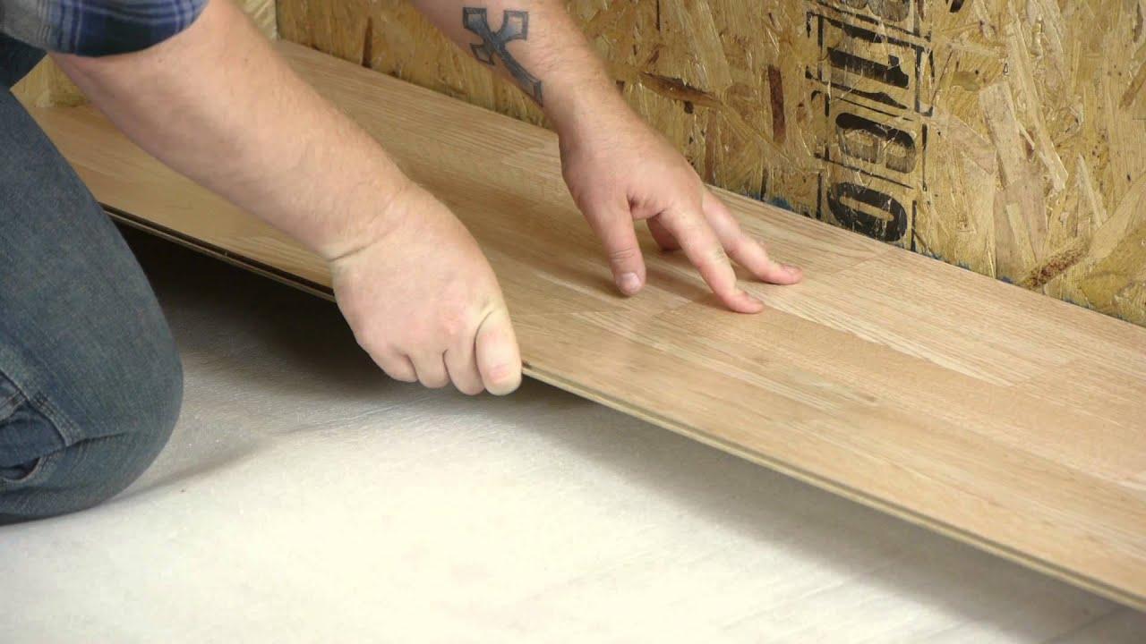 How To Install Uniclic Floors Let S Talk Flooring