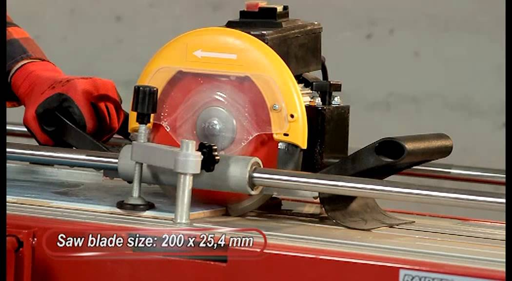 Raider Power Tools Tile Cutting Machine Rdp Etc28 Youtube