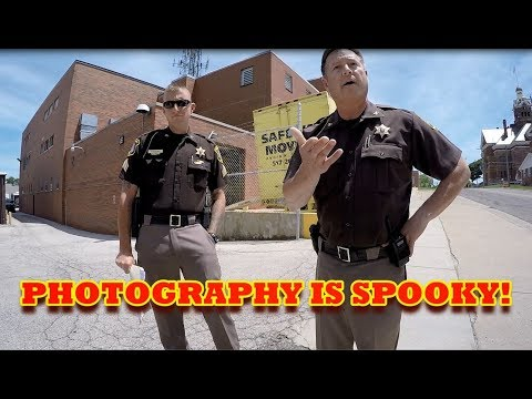 PHOTOGRAPHY IS SPOOKY! 1st Amendment Audit Michigan Police