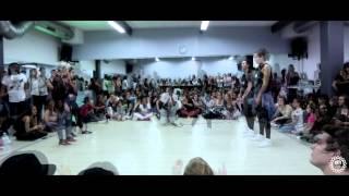 Hall Expression Bordeaux 2015 Battles Dancehall 1ère Demi Final
