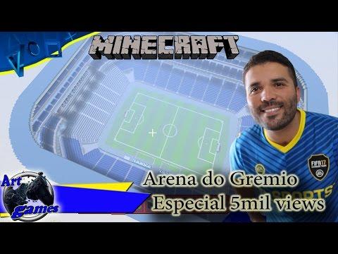 Minecraft-Arena do Gremio-Especial 5mil views (Playstation4)