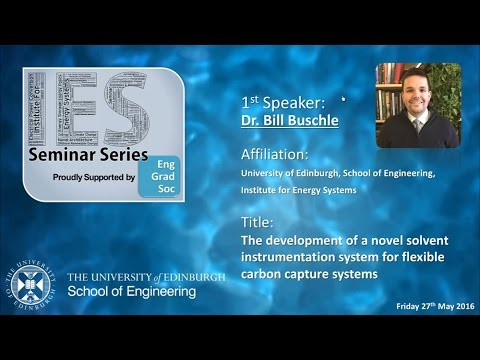 The development of a novel solvent instrumentation system for flexible CCS - Bill Buschle