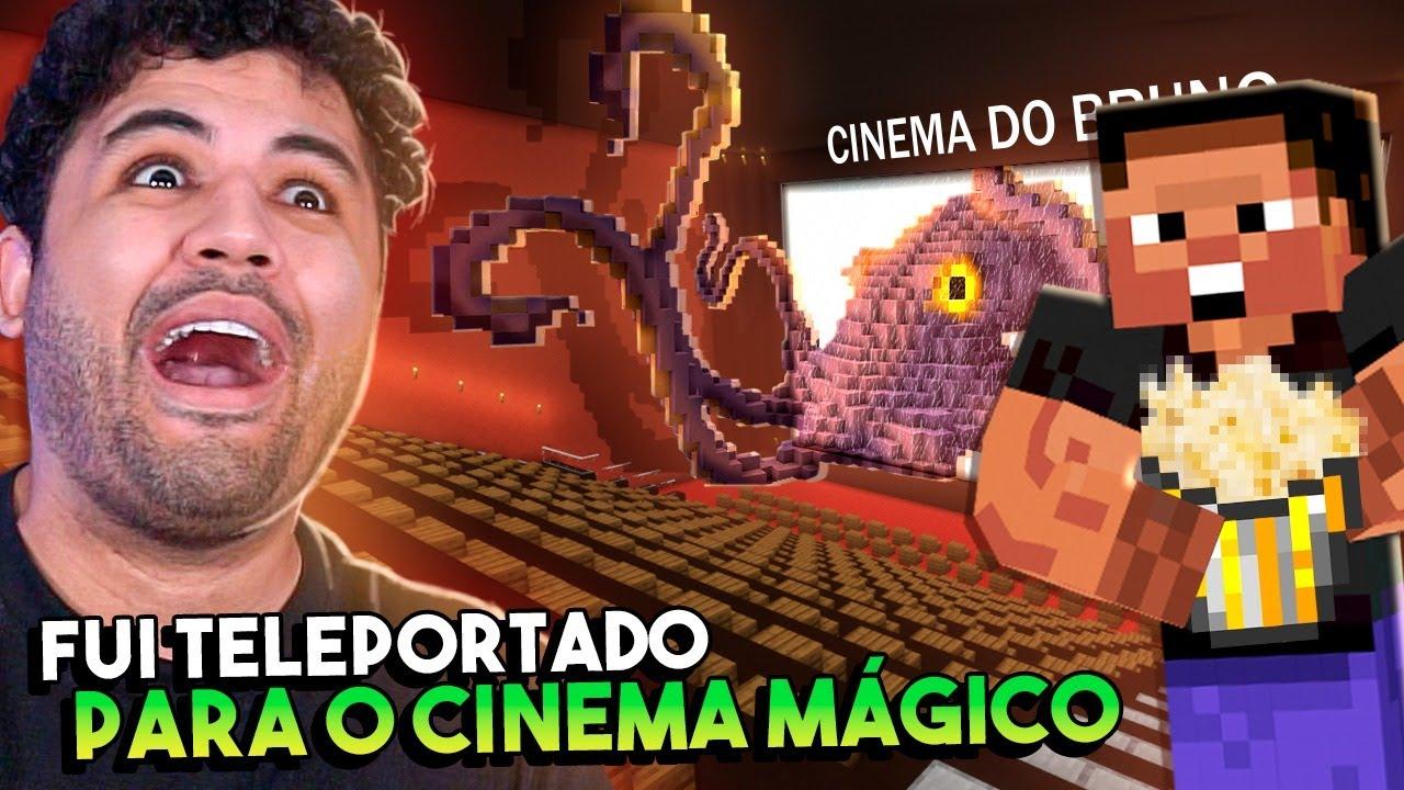 VISITAMOS O CINEMA DO MINECRAFT - MINECRAFT S02 #97
