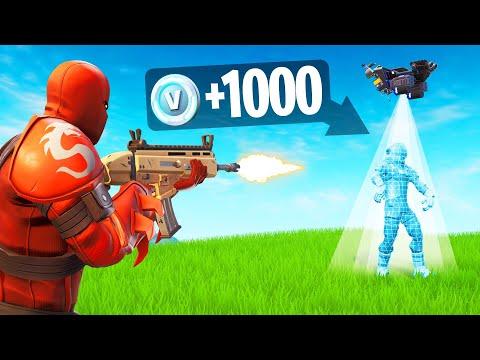 1 Kill = 1,000 V-Bucks CHALLENGE! (Fortnite)