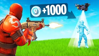 1 Tuer 1000 V-Bucks CHALLENGE! (Fortnite)