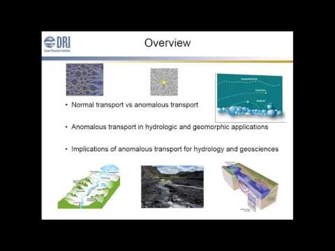 2017: Not NORMAL: Anomalous transport in hydrology, hydrogeology, and geomorphology
