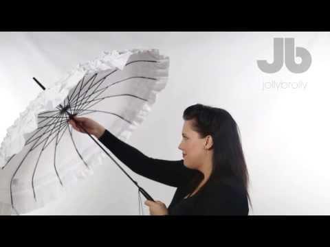 white-flat-top-wedding-umbrella