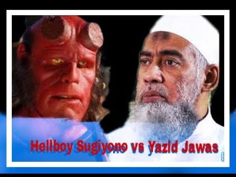 DEBAT PANAS Wahabi ziarah kubur Hellboy Sugiono vs Ust. Yazid Jawas