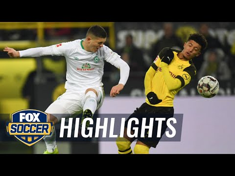 Borussia Dortmund vs. Werder Bremen | 2018-19 Bundesliga Highlights Mp3