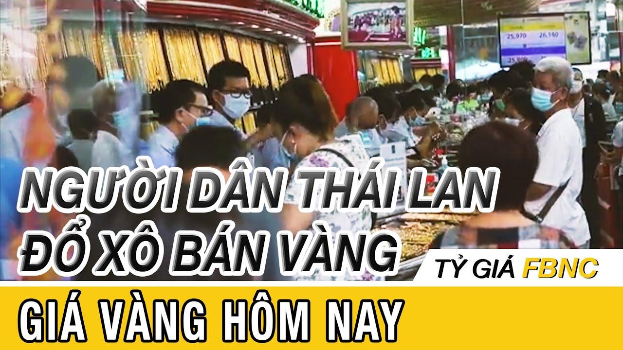 Giá vàng mới nhất hôm nay ngày 16 tháng 4/2020 | Người dân Thái Lan đổ xô bán vàng