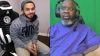 Dad Reacts to How TSM Hamlinz Really Plays Fortnite!