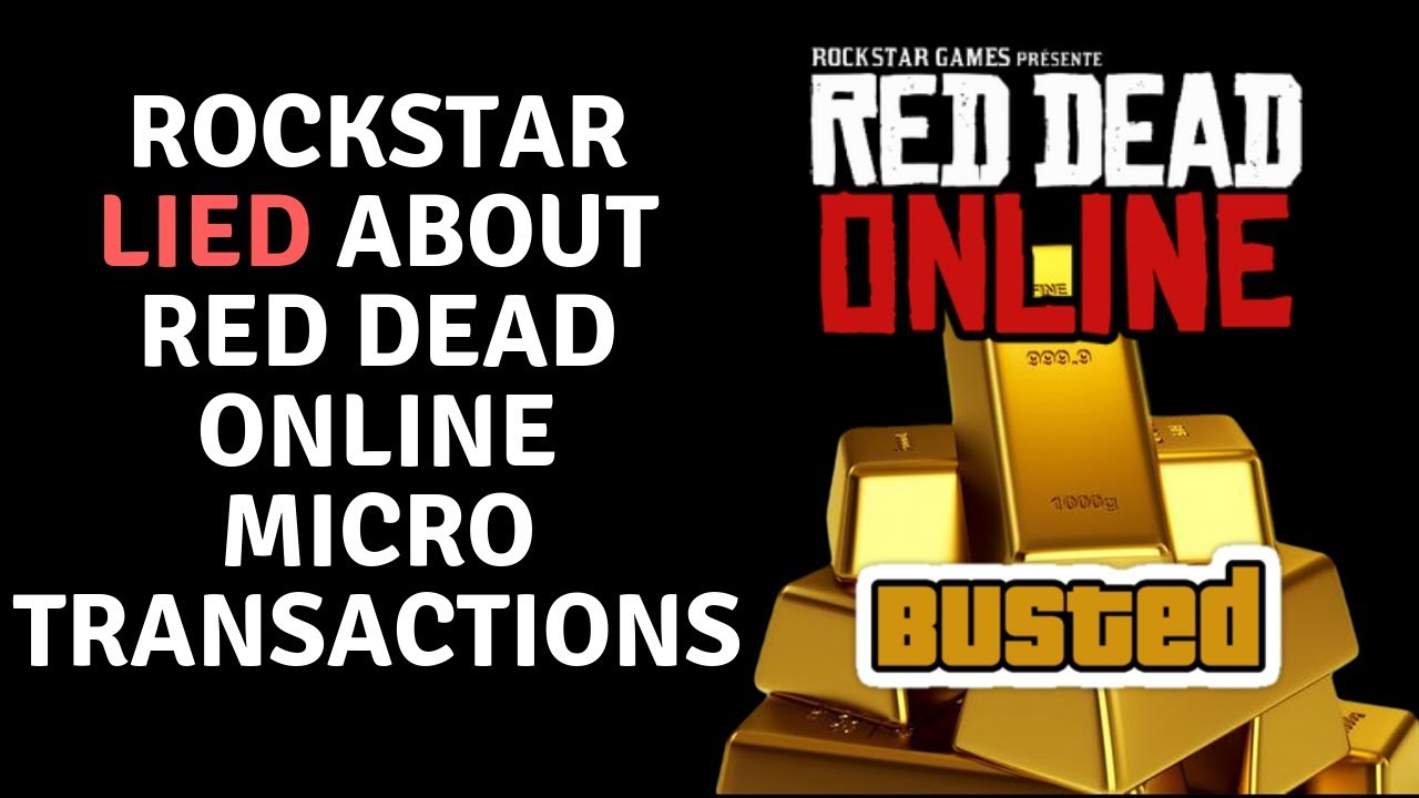 Rockstar Lies & Red Dead Online Economy Is A Grindy Mess