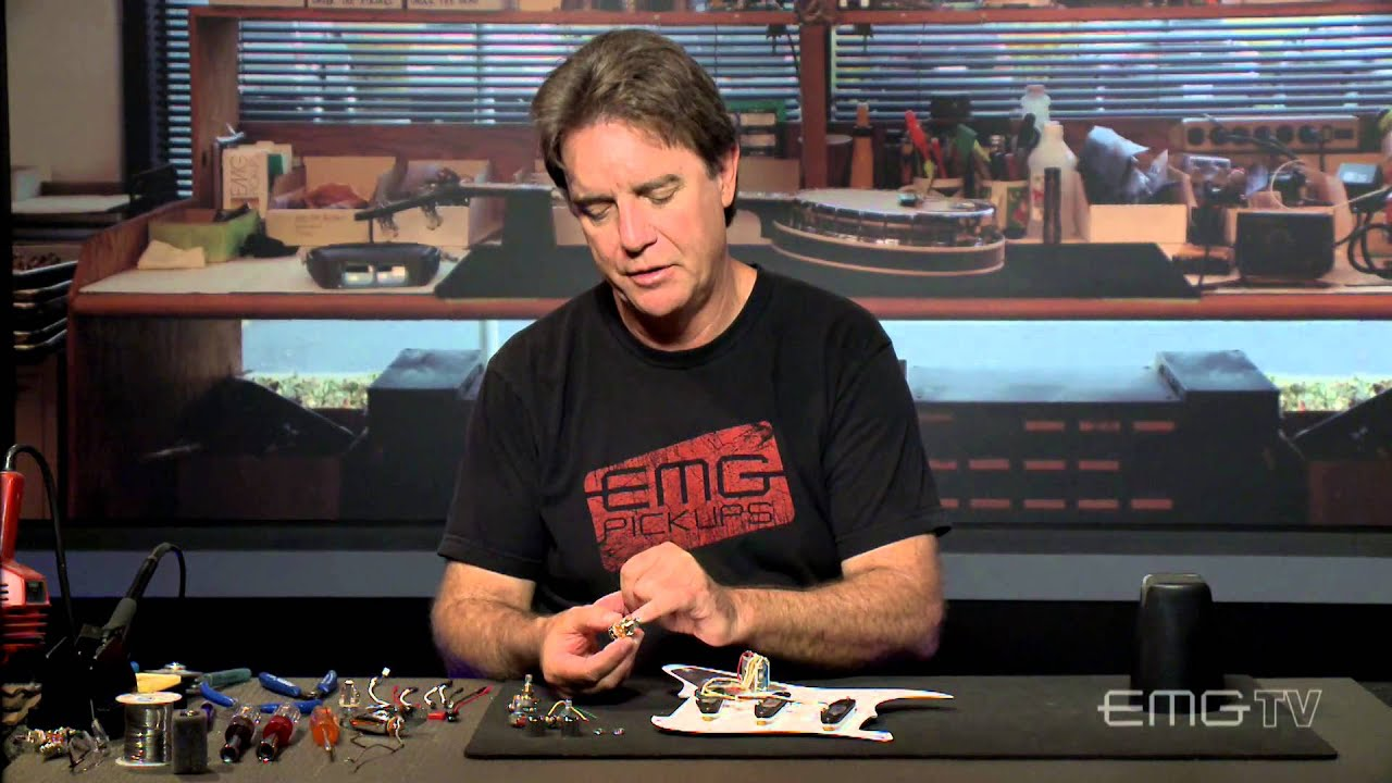 hight resolution of emg guitar accessory install with passive pickups