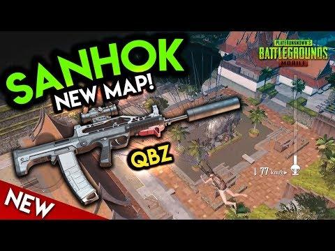 NEW MAP SANHOK & NEW GUN QBZ! PUBG Mobile Update