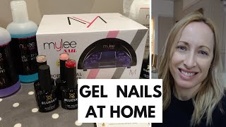 How To Do Gel Nails at Home - Mylee Bluesky Gel Nail Kit Review