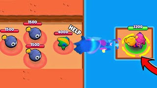 *LUCKIEST* PLAYER EVER in Brawl Stars!  / Funny Moments & Fails & Glitches #10