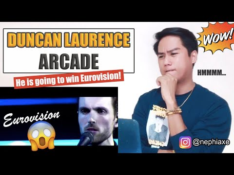 Duncan Laurence - Arcade (live acoustic at DWDD) [SINGER REACTS]