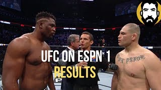 UFC on ESPN 1 Results: Cain Velasquez vs. Francis Ngannou | Post-Fight Special | Luke Thomas