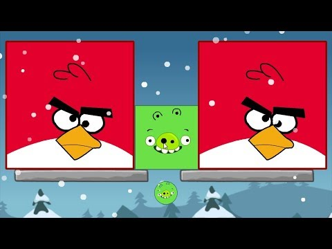 Angry Birds Kick Out Green Pigs - TINY...