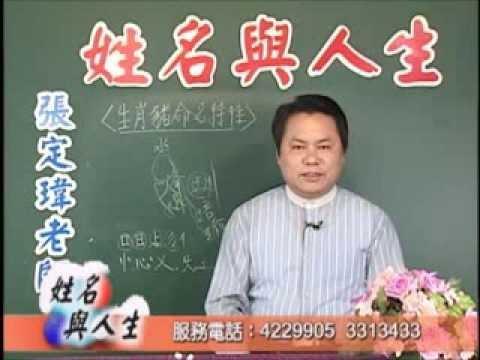 張定瑋老師-姓名與人生-生肖[豬]命名特性